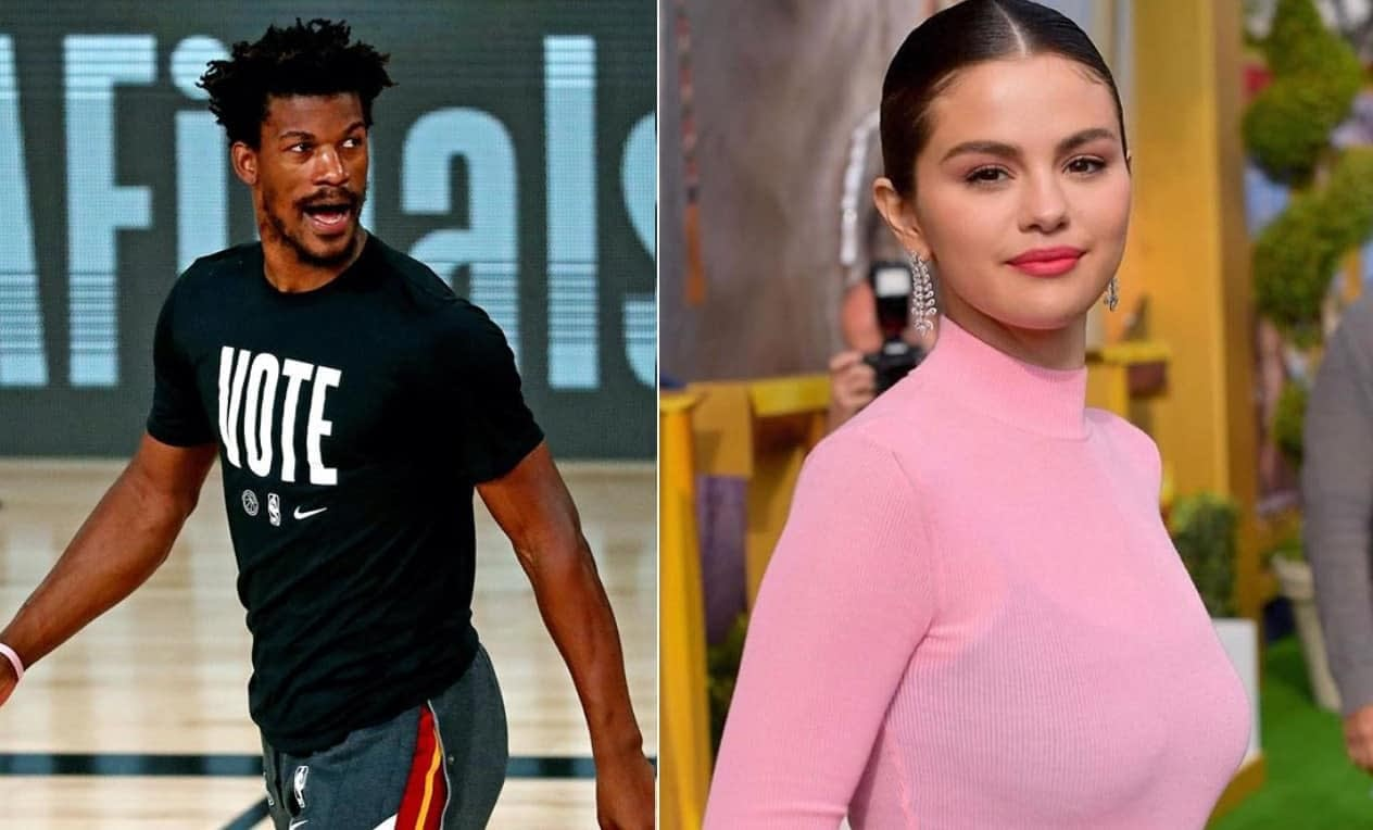 Miami Heat leader and NBA all star Jimmy Butler and Selena Gomez are together?