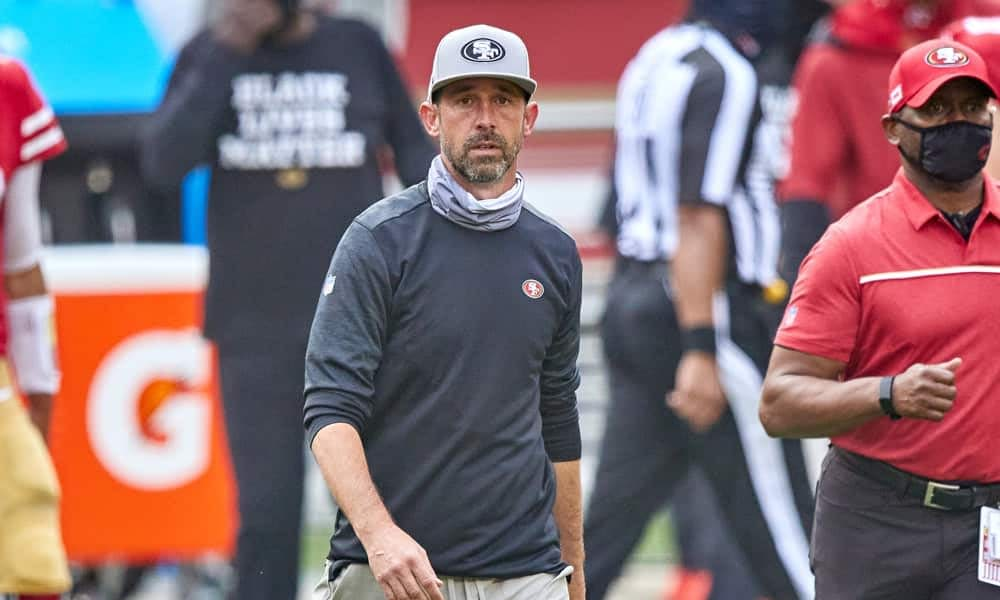 After some damning comments earlier in the week, Kyle Shanahan added some more clarity into why he's not giving snaps to talented receiver Brandon Aiyuk