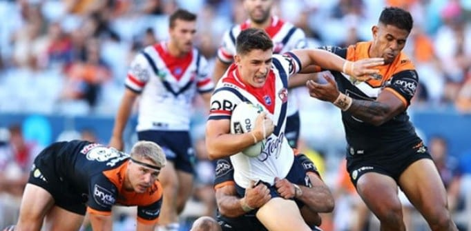Degen Bet Of The Day: National Rugby League, Wests Tigers vs. Sydney Roosters (Saturday, August 22)