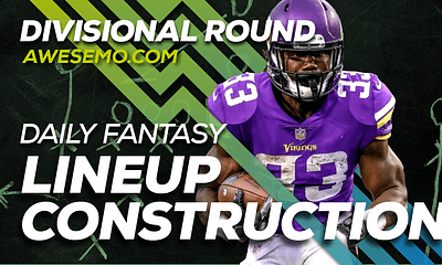 Ben Rasa and Nolan Kelly sit down to discus Divisional Round Daily Fantasy Lineups on DraftKings & FanDuel NFL DFS, Dalvin Cook & More!