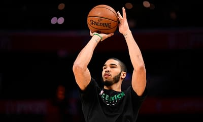 Jock MKT NBA picks for DFS and daily fantasy basketball lineups on Tuesday April 12 based on Awesemo's expert projections featuring Jayson Tatum