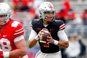 DraftKings CFB DFS Picks COllege football fantasy Week 6 friday free expert cheat sheet advice tips strategy C.J. Stroud October 9 2021