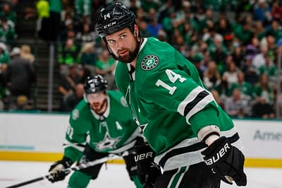 DraftKings NHL DFS Picks fantasy hockey cheat sheet today optimal lineup optimizer projections rankings ownership Jamie Benn top stacks free expert advice tips strategy Monday October 25