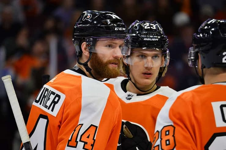 NHL DFS Picks: Sean Couturier headlines this two-game slate, along with Elias Pettersson on DraftKings + FanDuel | NHL picks + Plays