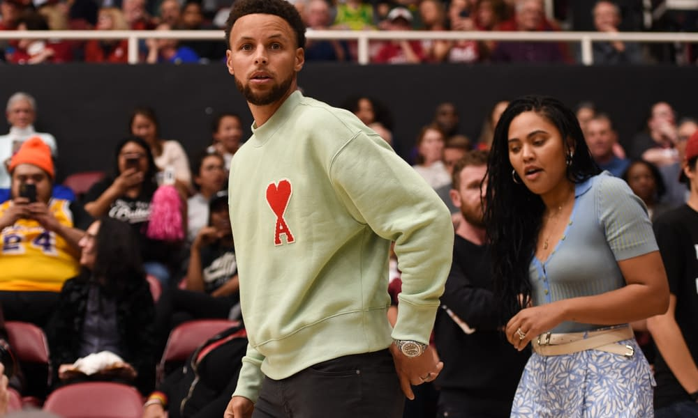 Golden State Warriors star Steph Curry appears to be fine with Drake referencing his wife, Ayesha Curry, on a song in Certified Lover Boy