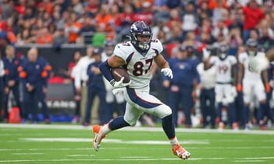 Week 4 Thursday Night Football Broncos vs. Jets free NFL Picks + NFL odds boosts to watch | Noah Fant + Melving Gordon + Sam Darnold | 10/2
