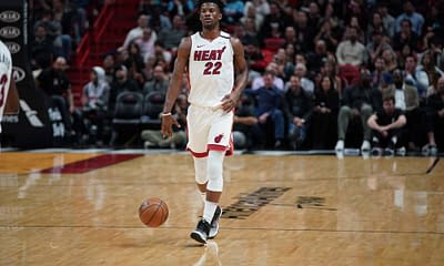 Zach Brunner utilizes the Awesemo Boom/Bust Tool for NBA Fantasy projections for DraftKings and FanDuel today with Jimmy Butler.