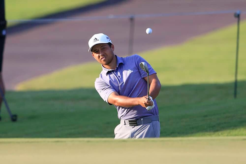 PGA Optimizer picks for DraftKings and FanDuel WGC Workday fantasy golf lineups with expert analysis with Xander Schauffele