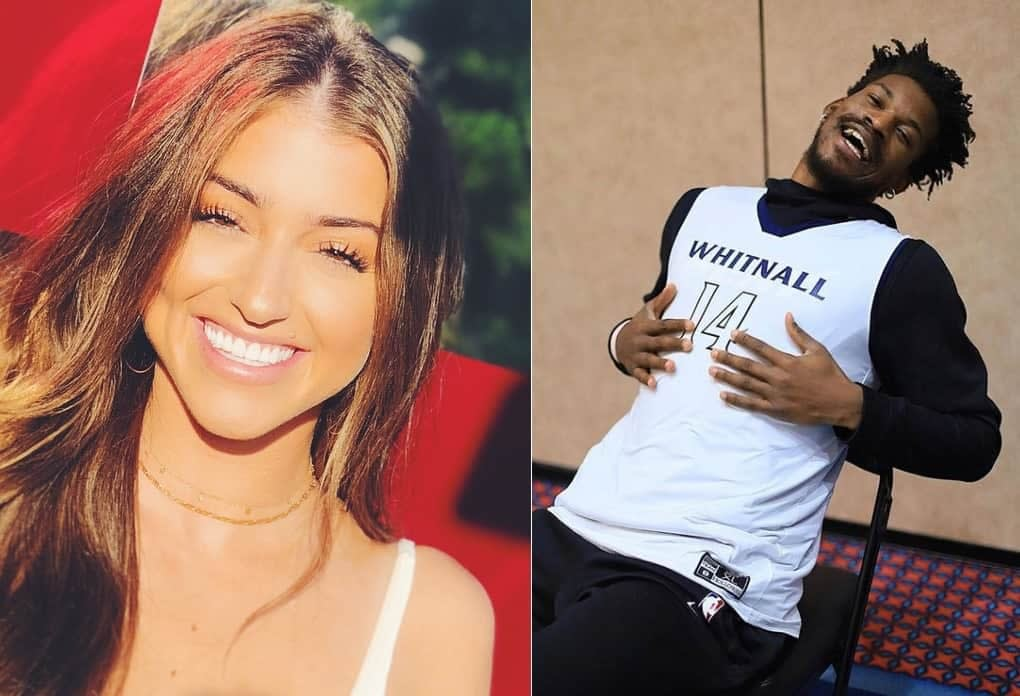 Jimmy Butler S Baby Mama Kaitlin Nowak Reacts To Heat Advancing To Nba Finals Awesemo Com