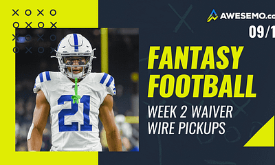 Mike Barner gives out his favorite FREE fantasy football Week 2 waiver wire pickups for your fantasy teams | Nyheim Hines + Benny Snell