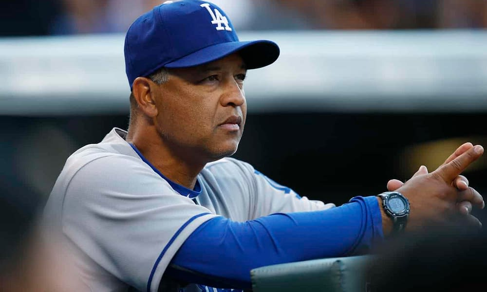 Los Angeles Dodgers manager Dave Roberts is getting shade for his unconventional last-minute lineup changes prior to minor go home Game 5
