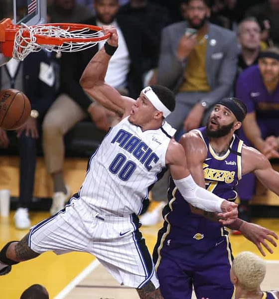 EMac gives his favorite NBA DFS picks for DraftKings + FanDuel daily fantasy basketball lineups including Aaron Gordon for Sunday 1/24