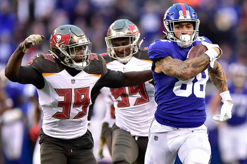 Chris Giordani breaks down the best NFL picks and NFL odds, and gives best bets for Week 8 Monday Night Football | Giants vs Buccaneers | 11/2