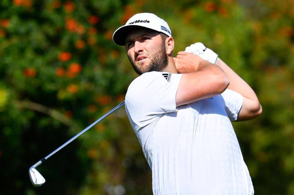 DraftKings & FanDUel PGA DFS Picks for Wells Fargo Championship daily fantasy golf lineups with expert projections, ownership and statistical data with Jon Rahm