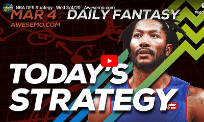 FREE Awesemo YouTube NBA DFS picks & content for 3/4/20 daily fantasy lineups on DraftKings + FanDuel including Ja Morant and more!