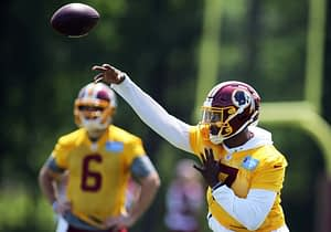 FREE NFL Fantasy Football Team Previews continues with Dwayne Haskins and the Washington Redskins. Sleepers, Busts, Best Ball, NFL DFS