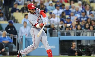 Chris Spags goes over the fantasy baseball MLB DFS slate tonight with his favorite MLB picks, including Eugenio Suarez and more!