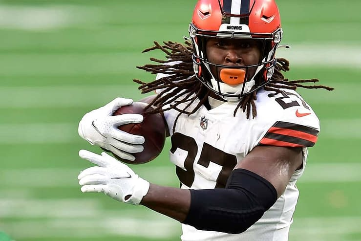 Week 6 DraftKings NFL DFS Picks daily fantasy football free expert cheat sheet projections rankings ownership optimal lineup optimizer roster how to win cash game tournament GPP Kareem Hunt RB QB TE WR PPR