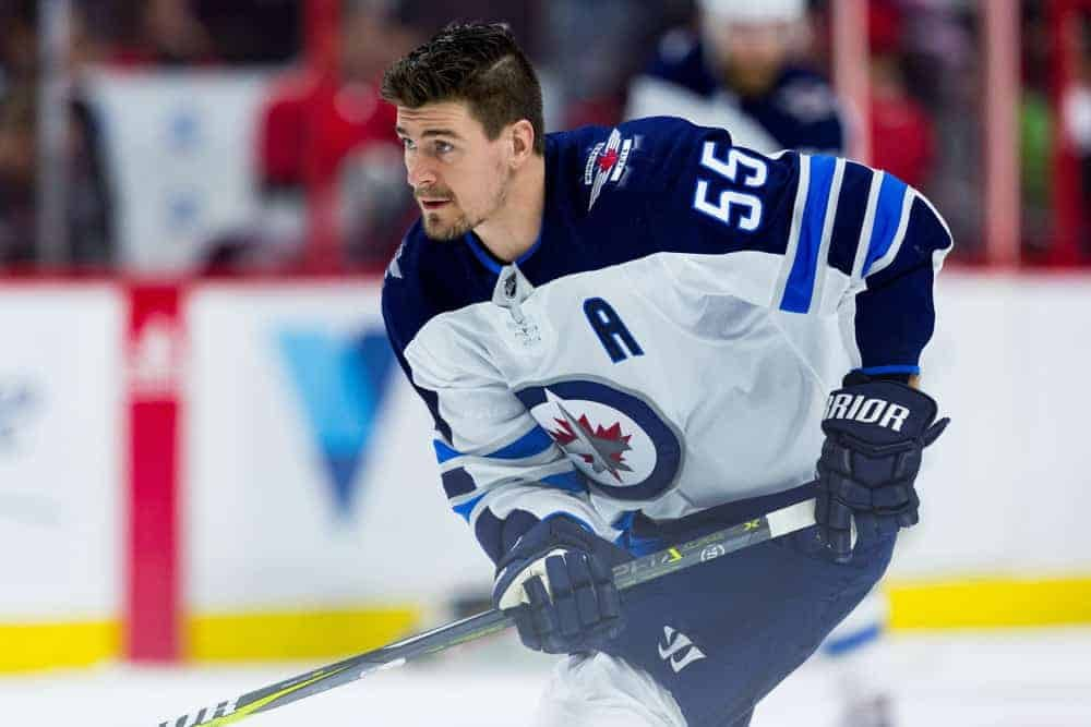FanDuel NHL DFS Picks lineups cheat sheet featuring Mark Scheifele