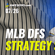 Adam and EMac review the day of baseball, and take a first look at today's MLB slate with MLB DFS picks DraftKings + FanDuel.
