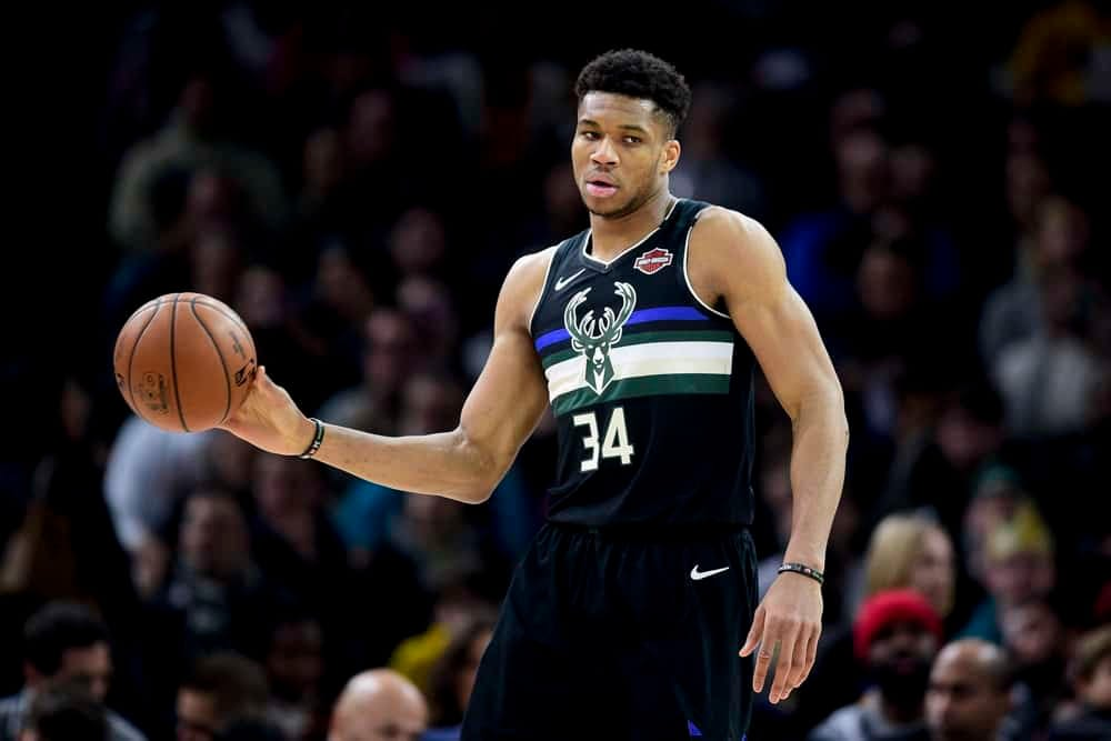 EMac gives his favorite NBA DFS picks for Yahoo + DraftKings + FanDuel daily fantasy basketball lineups with Giannis Antetokounmpo   Thursday 2/25