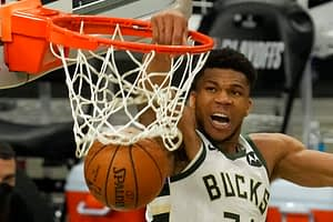 EMac gives his favorite NBA DFS picks for Yahoo, DraftKings + FanDuel daily fantasy basketball playoffs lineups, including Giannis Antetokounmpo   7/20/21