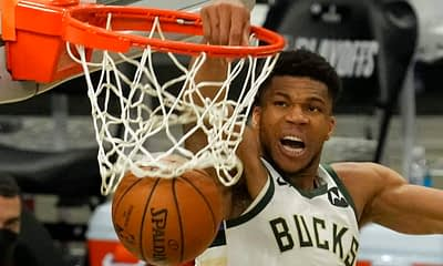 EMac gives his favorite NBA DFS picks for Yahoo, DraftKings + FanDuel daily fantasy basketball playoffs lineups, including Giannis Antetokounmpo | 7/20/21