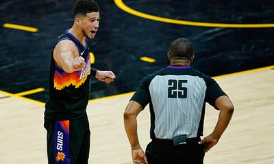 EMac gives his favorite NBA DFS picks for Yahoo, DraftKings + FanDuel daily fantasy basketball playoffs lineups, including Devin Booker   7/8/21