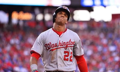 FanDUel MLB DFS daily fantasy baseball picks cheat sheet for Monday April 19 with Juan Soto