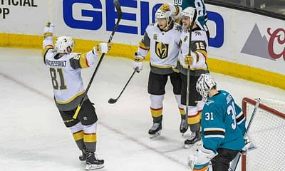 DraftKings & FanDuel NHL DFS picks for daily fantasy hockey lineups on Friday April 9 based on Awesemo's expert projections and top stacks tool
