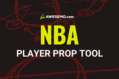 The Awesemo NBA Player Props Tool provides the expected ROI on all available player prop bets for tonight's NBA games!