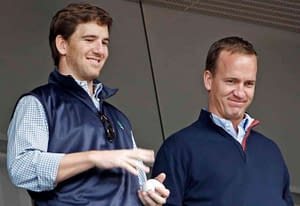 Social media had all the jokes after Peyton and Eli Manning had their Monday night Football broadcast interrupted by Eli's fire alarm
