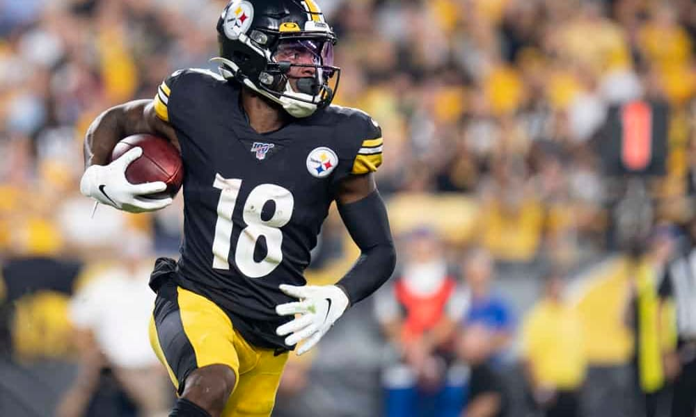 The top Fantasy Football Start 'Em Sit 'Em guide for NFL Week 2 going over the best and worst wide receiver matchups and rankings   Diontae Johnson