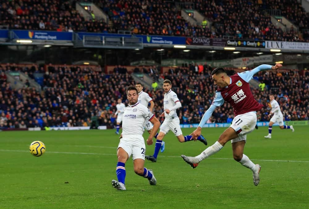 FanDuel EPL DFS Picks lineups cheat sheet English Premiere League daily fantasy soccer with Dwight McNeil