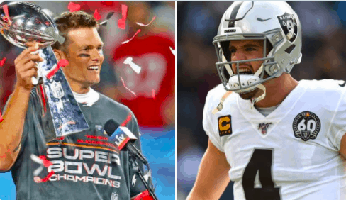 According to a new report, Tom Brady was likely talking about Derek Carr and the Las Vegas Raiders with viral 'that motherf-ker' dig