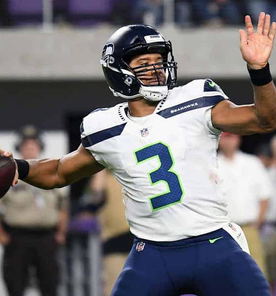 Julian Edlow analyzes the sports betting markets and gives his favorite NFL picks for NFL futures bets entering Week 2 Russell Wilson 9/16