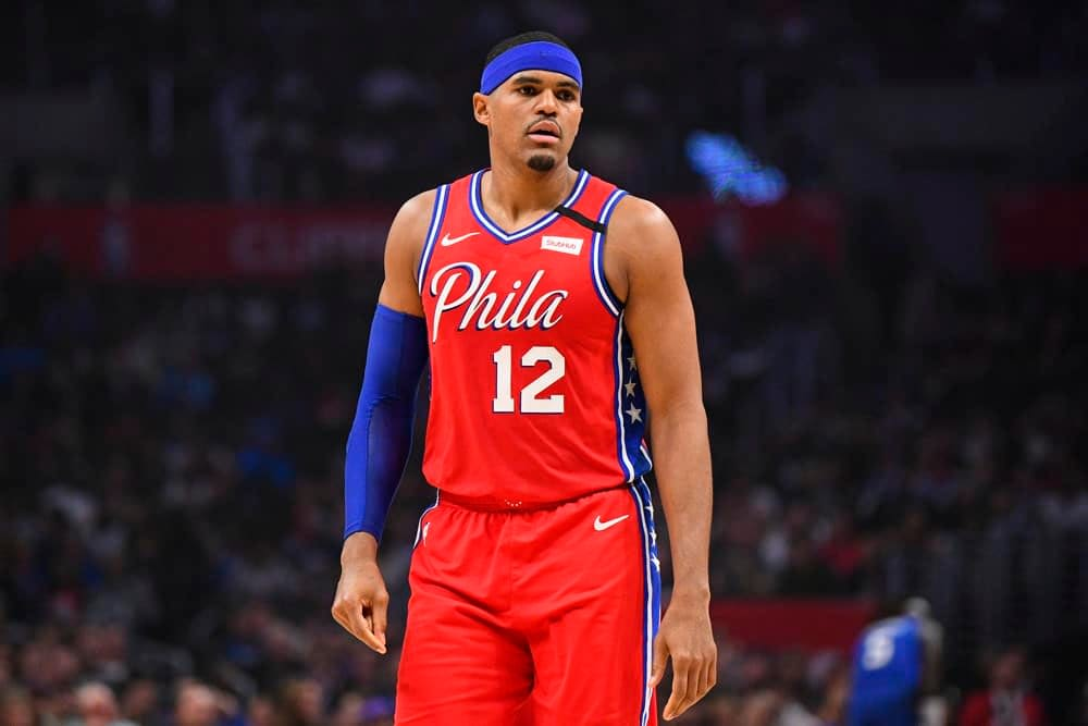 NBA FanDuel Lineup PIcks Top 5 expert rankings daily fantasy basketball from Josh Engleman's contenders with ownership and simulations for Tuesday June 8 featuring Tobias Harris at No. 1