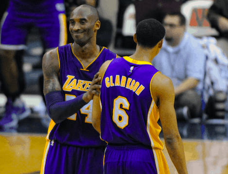 Utah Jazz guard Jordan Clarkson paid tribute to his former teammate, Kobe Bryant, ahead of the playoff series against the Clippers