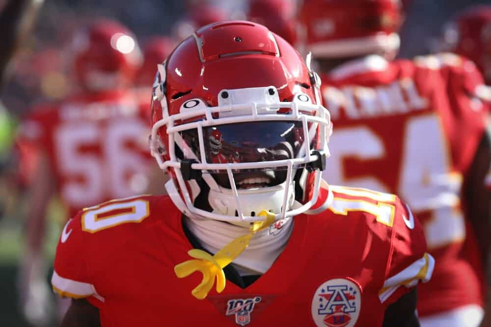 Kansas City Chiefs star receiver Tyreek Hill sent a clear message to Ravens players trolling him over his off-night on Sunday