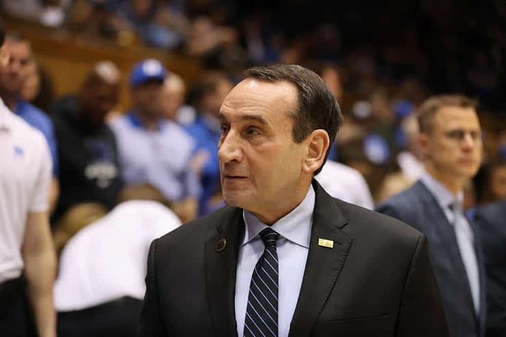 Coach K sent out an emotional statement after it was revealed that he was retiring at the end of Duke's next season
