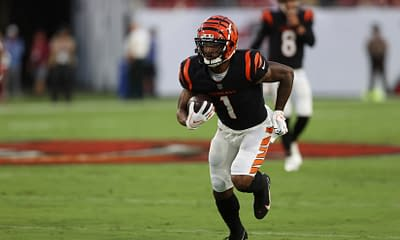 Week 6 NFL DFS expert picks daily fantasy football free advice tips strategy top stacks ownership rankings projections cheat sheet PPR leagues DraftKings Fanduel Yahoo Ja'Marr CHase Kareem Hunt