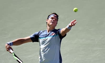 Tennis DFS picks including Milos Raonic for upcoming DraftKings slate on 10/23/20