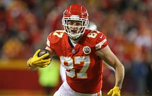 NFL yahoo DFS picks Week 6 daily fantasy football free expert projections rankings rostership ownership advice tips strategy Travis Kelce Lamar Jackson top stacks optimal lineup optimizer PPR