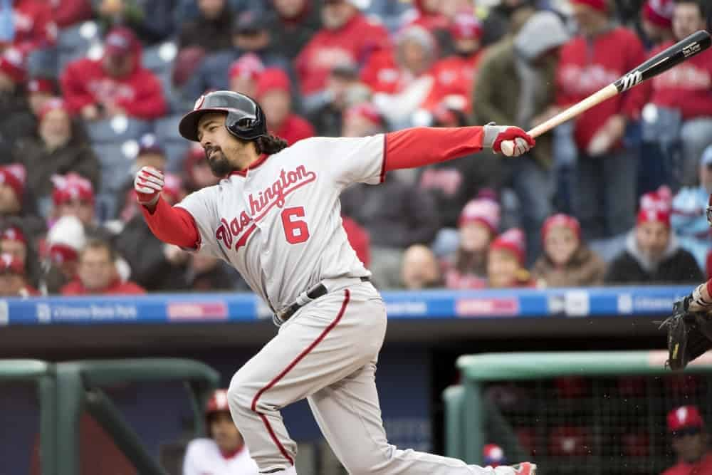 FREE MLB Picks September 11th DraftKings, FanDuel & Yahoo MLB DFS, with Anthony Rendon and the Nationals, Pirates and Coors Field