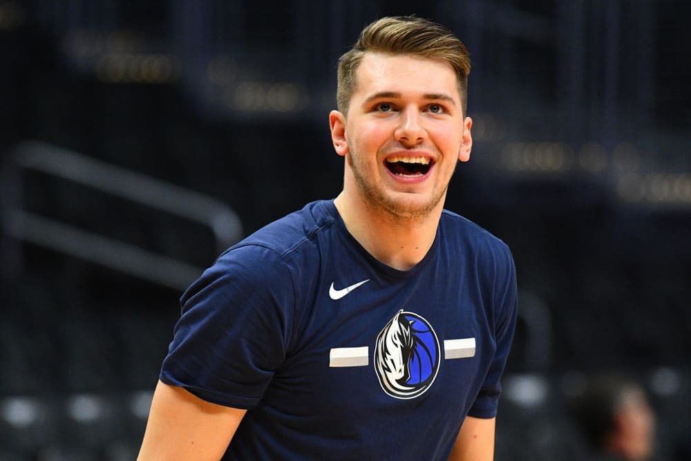 NBA DraftKings Lineup PIcks cheat sheet for DFS and daily fantasy basketball on Friday April 16 with Luka Doncic