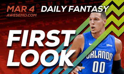 FREE Awesemo YouTube NBA DFS picks & content for daily fantasy lineups on DraftKings + FanDuel with Aaron Gordon, Zion Williamson + more