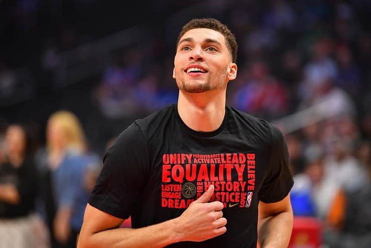 Daily Fantasy Basketball strategy for DraftKings and FanDuel lineups on Wednesday February 24 from our Awesemo experts with Zach LaVine