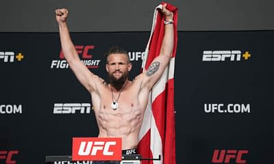 UFC DraftKings MMA DFS Picks Vegas 30 cheat sheet for this weekend's fight with Nicolas Dalby expert fantasy lineups projections ownership rankings Saturday June 26 2021