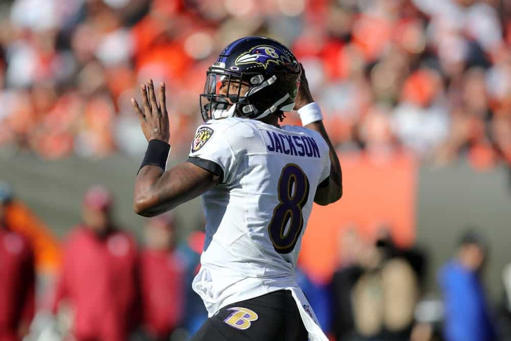 The ultimate free guide to making your Jock MKT NFL picks for NFL Week 6 with expert IPO projections | Lamar Jackson & Cooper Kupp