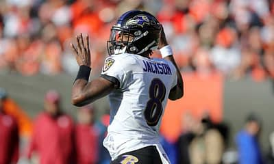 NFL DFS Picks for Yahoo daily fantasy football lineups Divisional Round Playoffs Free cheat Sheet based off expert projections Lamar Jackson